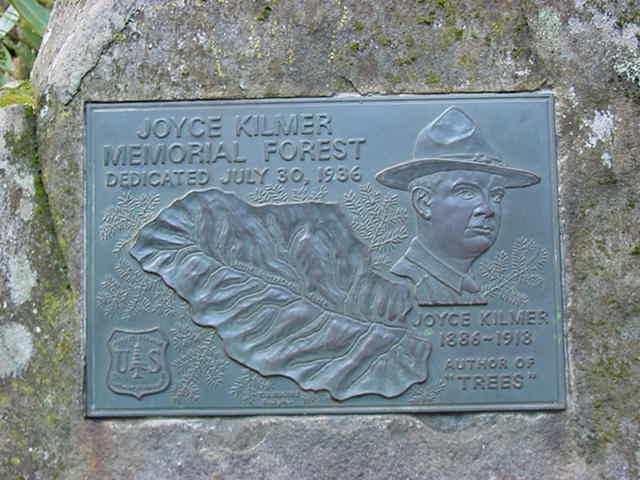 Kilmer Dedication Plaque
